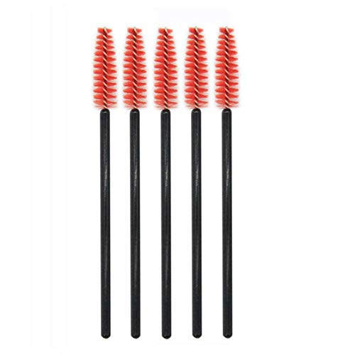 1 Stks Wimpers Penseel Make-up Eye Lash Curling Tool Mascara Brush Eyes Cosmetics Wimper Verlenging Dikke Lashes make-up Borsteltjes,5 stuks