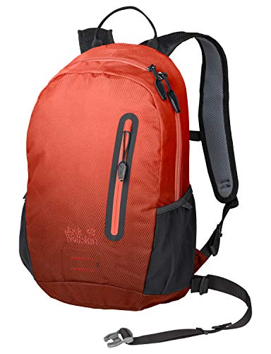 Jack Wolfskin Halo 12 Pack Fahrrad Wander Rucksack, Aurora orange, ONE Size