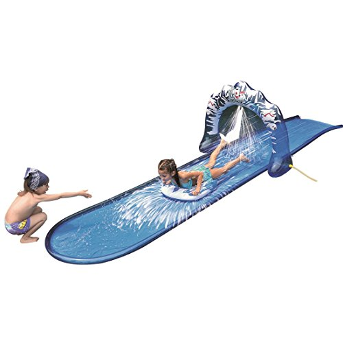 Product Image of the Slip and Slide Waterslide - Icebreaker Water Slide with Racing Raft and Water...