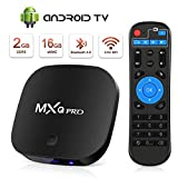 Foto Android TV Box, TV Box Android Superpow Smart TV Box MXQ PRO S Quad Core 2GB RAM+16GB ROM,4K/3D/UHD /H.265/HDMI/3 Porte USB