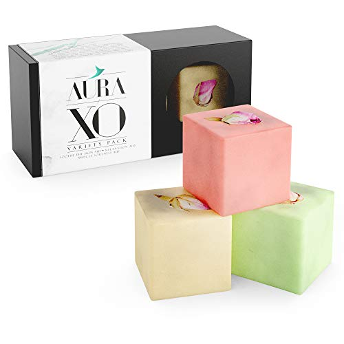 Bath Bomb 3 Piece Set, All Natural & Made in Canada, Enriched With Cocoa Butter & Essential Oils (3-set)