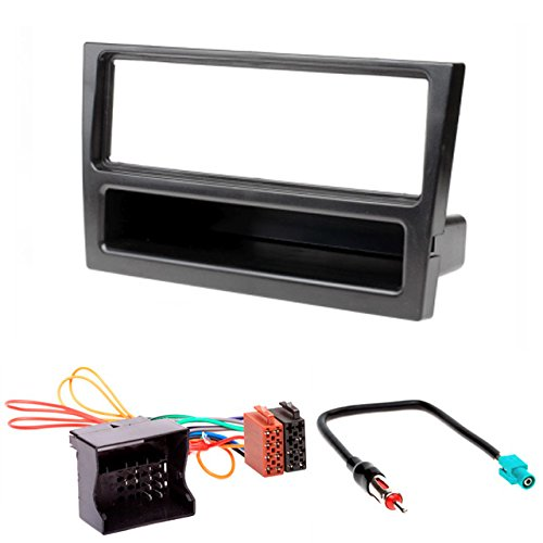 CARAV 11-027-24-7 - Kit di installazione mascherina radio DIN ISO e cavo adattatore antenna