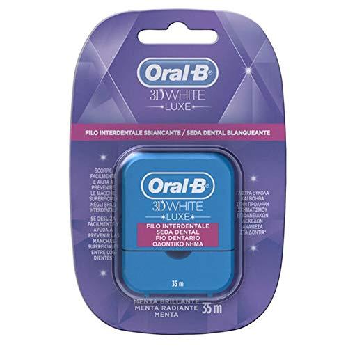 Oral-B 3DWhite Luxe - Zahnseide, Minze, 35Meter