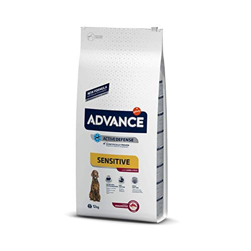 Advance Cibo per Cani Sensitive Agnello&Riso, 12 kg