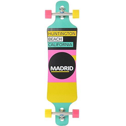 Madrid Longboard-Komplettset bunt Einheitsgröße