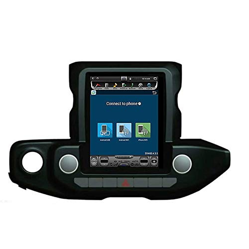 Best Bargain Tlyd Car Multimedia Player GPS Navigator with 12-Inch Android 8.1 HD Digital Capacitive...