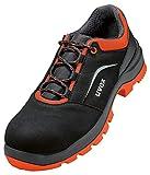Uvex 2 x Xenova Zapatos de Seguridad - Zapatos Deportivos S2 para Hombre, color Naranja, talla 46 EU