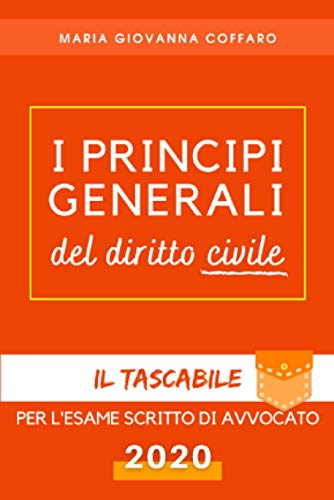 I Principi Generali del Diritto Civile: Il tascabile per l'esame scritto di avvocato