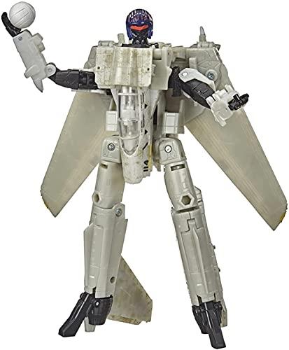 Transformers Kingdom Transformer Toys Generaciones Exclusivo Top Pist Mash-UP Maverick Tomcat Robot Robot COLECCIÓN Modelo de colección Figura de acción de Optimus Prime