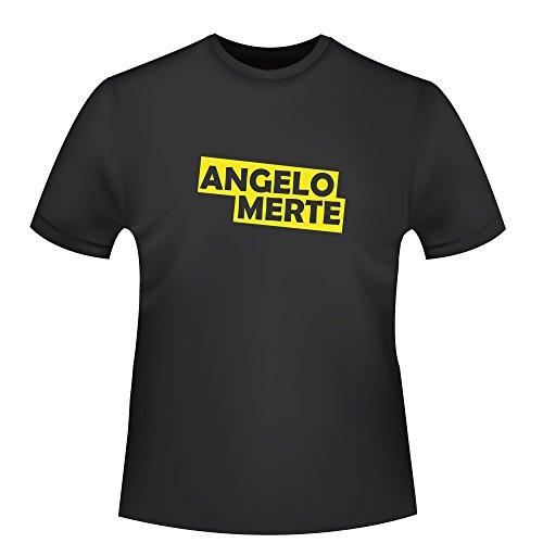 Angelo Merte, Herren T-Shirt - Fairtrade, Größe XL, schwarz