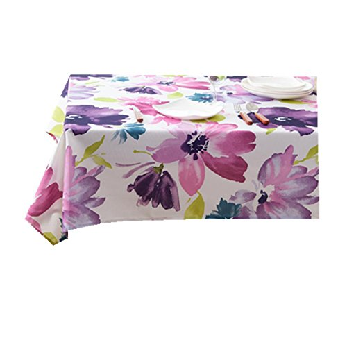 Nappe Chiffon Tissu haute qualité rectangulaire Home/pique-nique/café/bar à la poussière Antifouling doux Premium Table 90*90 cm 3 140*200cm