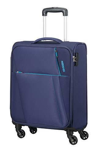 AMERICAN TOURISTER Joyride - Spinner 55/20 Equipaje de mano, 55 cm, 37.5 liters, Azul (Nordic Blue)