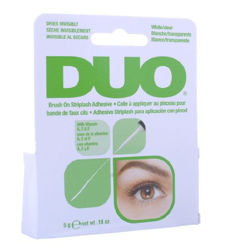 Duo Brush On Striplash Adhesive White/Clear 5g by Duo by Duo