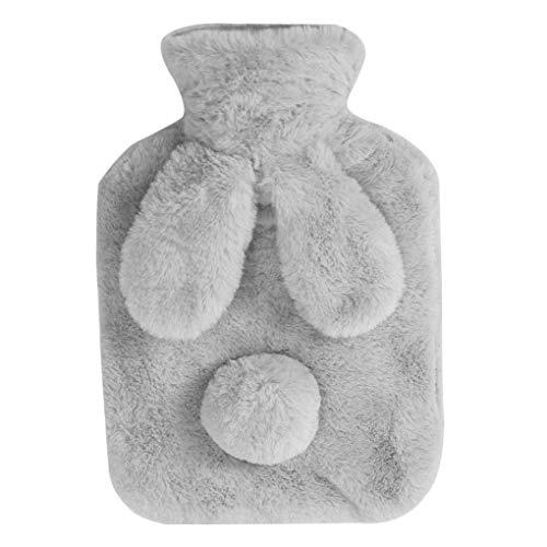 Vokmon Warm Entzückende Warmwasser PVC-Flasche Hand Füße halten Plüsch Wärmetasche Geburtstag Feiertags-Winter-Geschenk