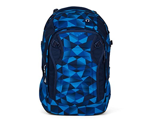 Satch Match Blue Crush Schulrucksack Set 5tlg.
