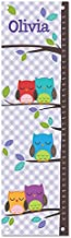 Personalized Growth Chart Ruler Owl Nursery Décor