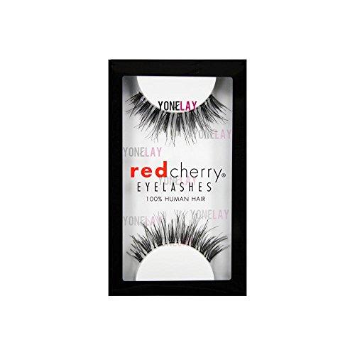 Red Cherry False Eye Lashes WSP (6 Pack) + Free iBeautiful Sample