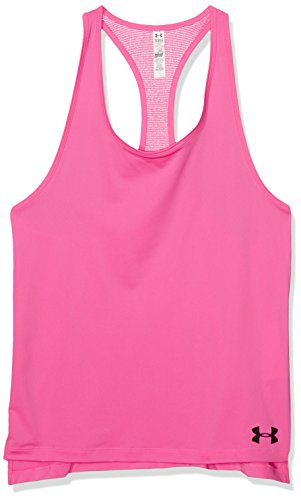 Under Armour Mädchen Luna Fitness-T-Shirts & Tanks, Rosa-Pink Punk, FR XL Taille Fabricant YXL