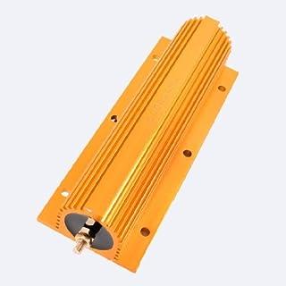 eDealMax 500W 20 Ohm Resistencia 5% Dorado de aluminio del caso Resistor Wirewound