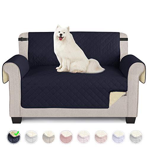 TAOCOCO Funda de sofá Impermeable Funda de cojín de protección para Mascotas Funda de sofá antisuciedad (Azul/ 2 Plazas 120 * 190cm)
