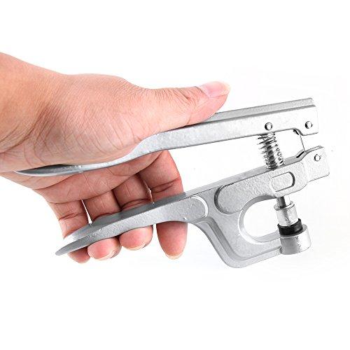 Hochwertige tragbar Einfache Snap Zange Verschluss Druckknopf Nähen Craft Snap Setter W/Schraubendreher Hot