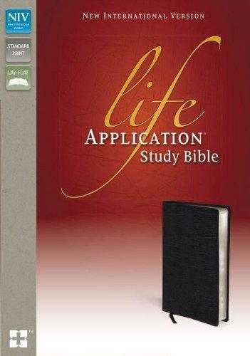 NIV Life Application Study Bible, Black