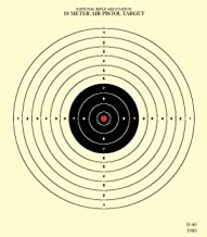 Official NRA Targets B-40/1, Air Pistol 10 Meter (33 Ft), Tag Board, 7