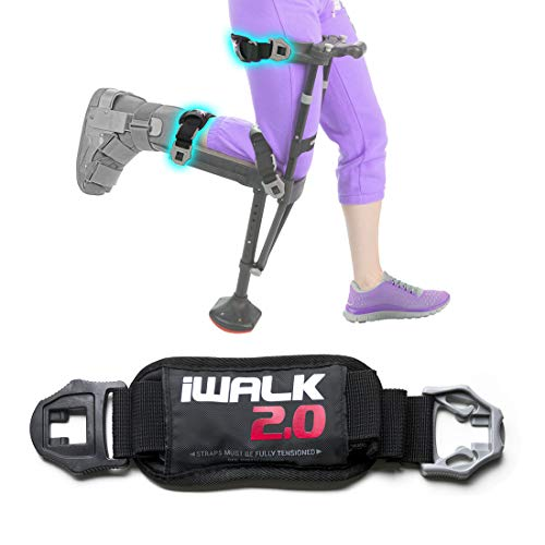 iWALK2.0 Hands Free Crutch - Alternative for Crutches and Knee Scooters - Factory Replacement Strap