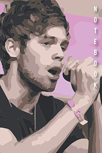 Notebook: Luke Hemmings 5 seconds of Summer Watercolor Drawing Notebook Gift Journal