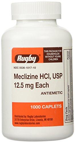 MECLIZINE TABS 12.5 MG OTC*RUG Size: 1000