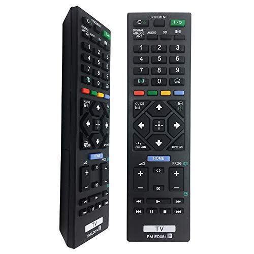 Nuevo Mando a Distancia Sony RM-ED054 de Repuesto para Mando TV Sony bravia-sin programación para Mando Sony RM-ED054