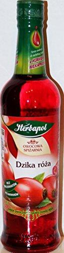 Fruchtsirup Wildrose von Herbapol // Syrop Dzika Róza - Herbapol