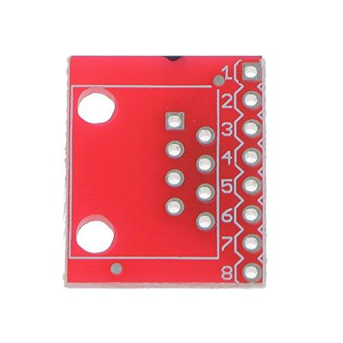 XUSHEN-HU Junta Conectores RJ45 PCB pequeña