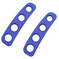 4本指射トレーニング 射撃姿勢矯正訓練装置 (青い, M)