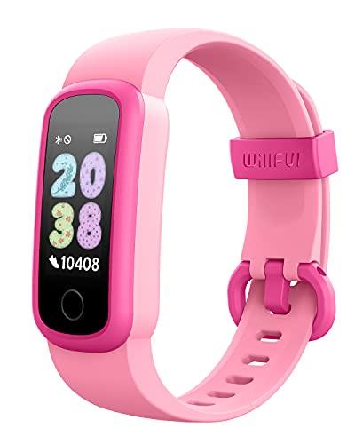 Willful Pulsera Actividad Inteligente Reloj Inteligente para Niños Niñas, Impermeable IP68 con 14 Modos de Deporte Smartwatch con Podómetro Pulsómetros Monitor de Sueño Contador de Caloría Cronómetros