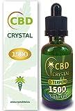 CrystalCBD 1500 Natural 50ml Sabor Neutro - Liquido para Cigarrillo electronico concristales de CBD 1500 MG / 50ml E-Liquid SIN NICOTINA no nicotina no Tabaco