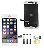 passionTR Screen Replacement fits iPhone 7 Plus 5.5 inch LCD Screen Display digitizer Assembly Full Complete Front Glass 3D Touch Screen (White)