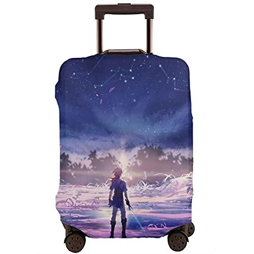 The Legend of Zelda - Protector de maleta de viaje único, lavable, bonito e interesante reconocimiento elástico
