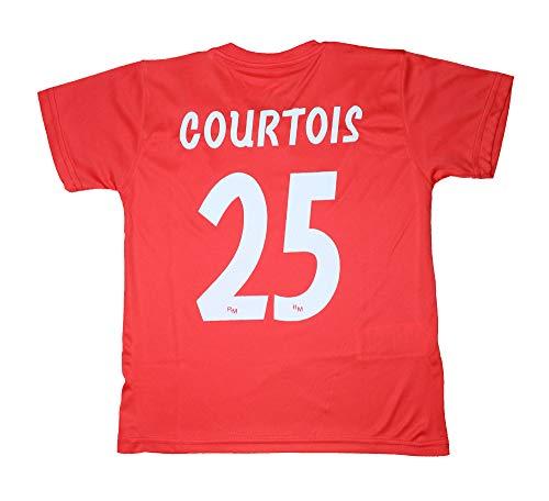 Real Madrid Kinder-Trikot und Hose – Replik – Courtois 25 (2 Jahre)