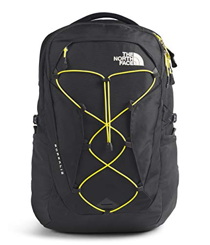 The North Face Damen Borealis Rucksack, Asphalt Grey/TNF Lemon, One Size