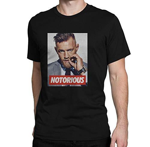 New Conor Mcgregor Men'S Black T-Shirt S M L Xl 2Xl