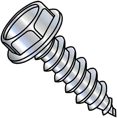6-18X1 2 Unslotted Indented Hex Washer Outlet Houston Mall SALE Self Tapping Screw Type A