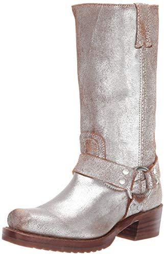 Frye Women's Harness 12R Boot, Silver/Multi, 8 M US
