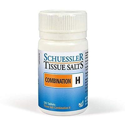 Schuessler Combination H Tissue Salt Tablets - Pack of 125