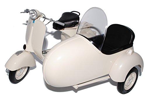 Vespa 150 Piaggio Vl1t 1955 Beige Mit Seitenwagen 1/6 Nuevo Ray Motorradmodelle Motorrad Modelle