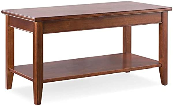 Leick Home Grayson Coffee Table In Sienna