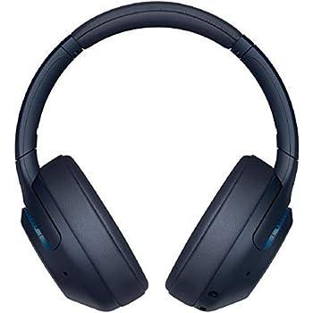ソニー ワイヤレスノイズキャンセリングヘッドホン WH-XB900N : 重低音モデル / Amazon Alexa搭載 / bluetooth / 最大30時間連続再生 2019年モデル / マイク付き /ブルー WH-XB900N L