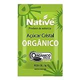 Açúcar Cristal Orgânico Native com 1000 Sachês de 5g