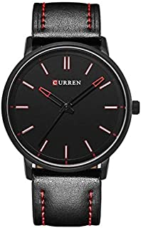 Curren Casual Watch For Men Analog Leather - M-8233