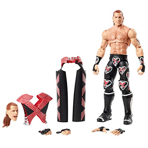 WWE Ultimate Edition 6-inch Action Figure, Shawn Michaels, Multi, Model:GLF69